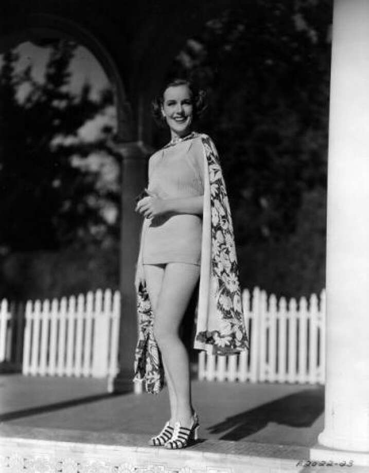 """Frances Farmer, West Seattle, 1931:Farmer had a successful film career during the 1930s, but was derailed by mental illness that plagued her for the rest of her life. She appeared on """"The Ed Sullivan Show"""" and """"This is Your Life"""" in the 1950s in an attempt to restart her career. This picture is from 1936. (Getty Images)"""