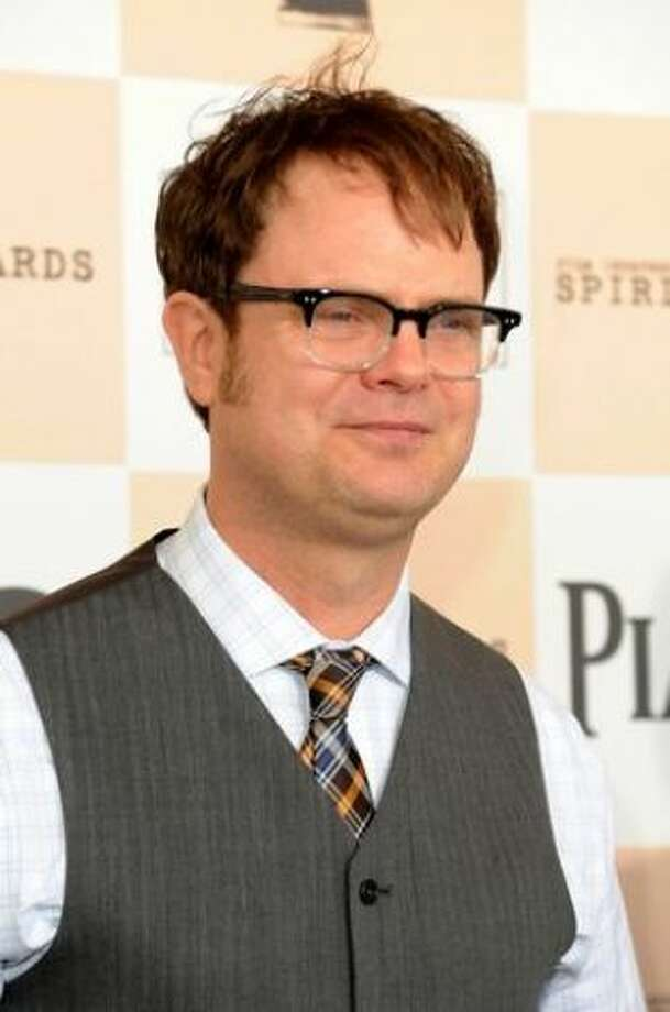 Rainn Wilson, Shorecrest: The man behind Dwight Schrute on The Office attended Shorecrest High School in Shoreline where he played clarinet and bassoon in the Highlander band. Wilson later graduated from a high school in Illinois. (Getty Images)