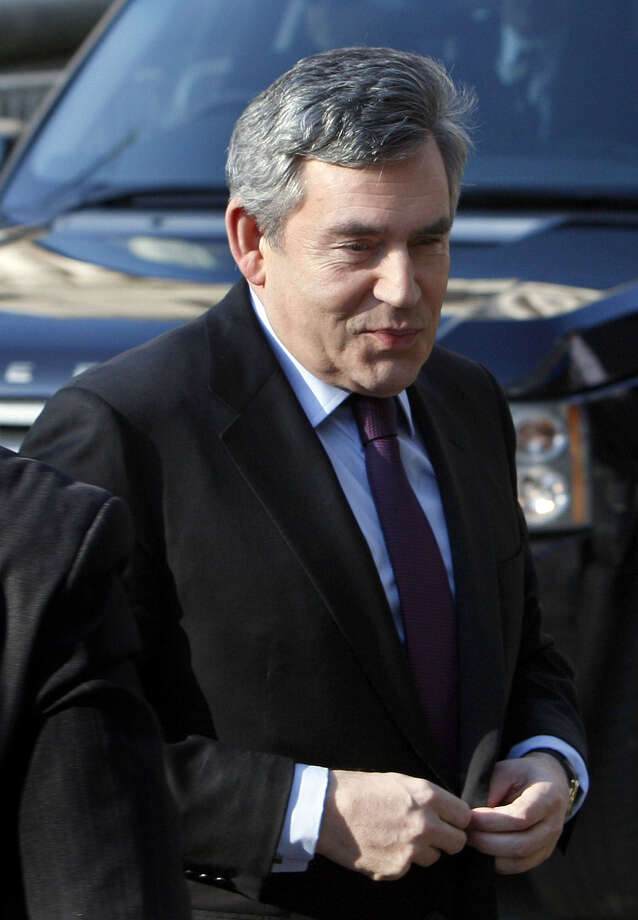 Former British Prime Minister Gordon Brown endorsed a possible U.S.-European Union trade pact.