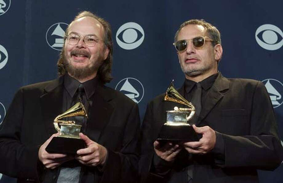 Steely Dan beats Radiohead and Eminem (2000): For music fans, it was a pretty stellar year. Not so much for members of the Recording Academy who passed over Eminem's The Marshall Mathers LP and Radiohead's Kid A to hand the Album of the Year prize to Steely Dan's instantly forgettable Two Against Nature. Even Donald Fagen seemed chagrined. Or maybe that's just the way he always looks.