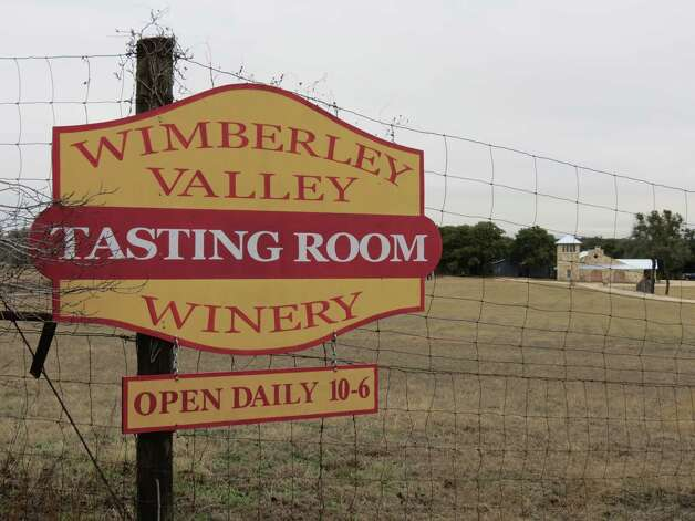 The Wimberley Valley Winery's tasting room will have been open for two years in April. Photo: San Antonio Express-News