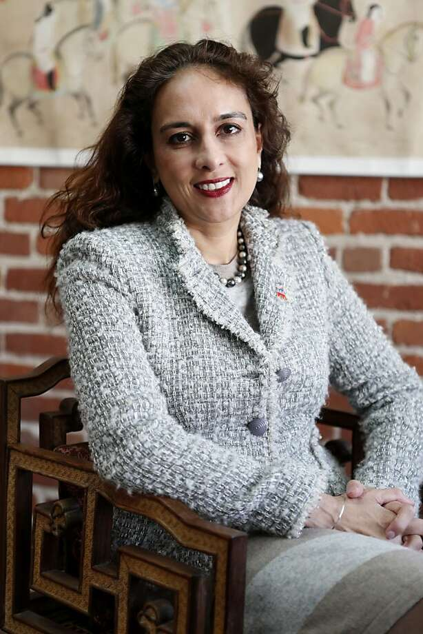 Harmeet Dhillon, attorney and candidate for California's Republican Party vice chairman, poses in her office on Tuesday, February 5, 2013 in San Francisco, Calif. Photo: Beck Diefenbach, Special To The Chronicle