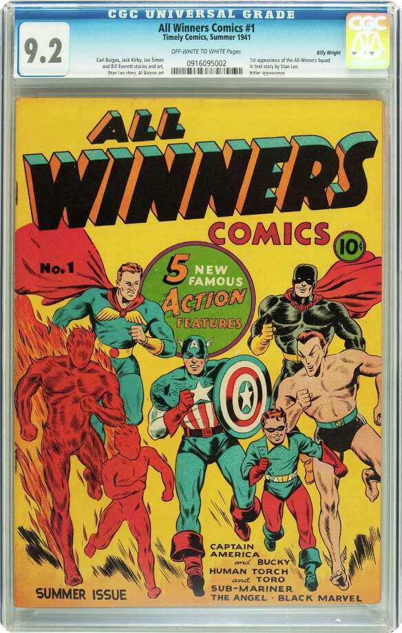 This comic book is one of dozens allegedly sold in Chicago by former DA investigator Lonnie Blevins. Photo: Heritage Auctions / Heritage Auctions
