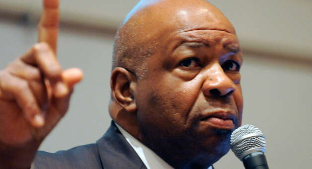 Rep. Elijah Cummings, D-Md., a co-sponsor of the anti-gun trafficking bill. (AP photo) Photo: Gail Burton