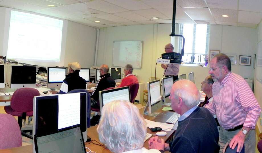 SeniorNet is offering a number of computer classes this month at the Greenwich Senior Center. For more information or to sign up, call 203-862-6734, or visit www.ComputerTrngSrNet.com. Photo: Contributed Photo