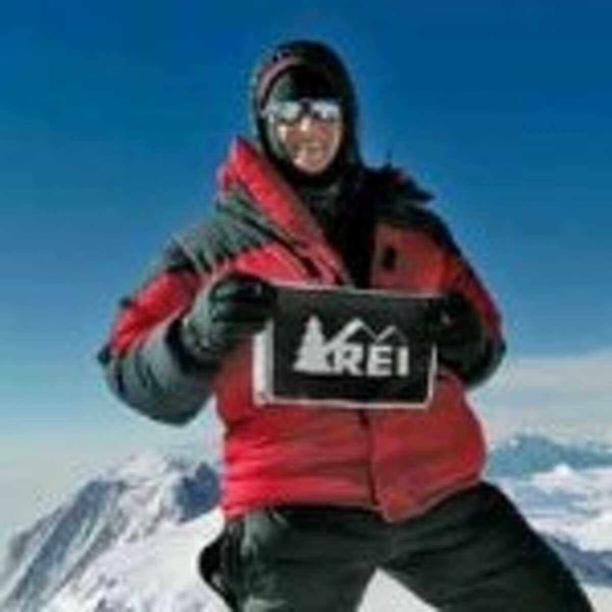 Sally Jewell in Antarctica