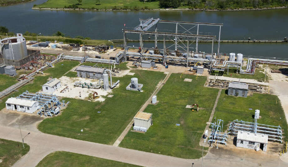 Cedar Bayou Power Plant has a permit to draw water from Cedar Bayou. The brackish water is used to cool the plants machines and is pumped underground to the plant.
