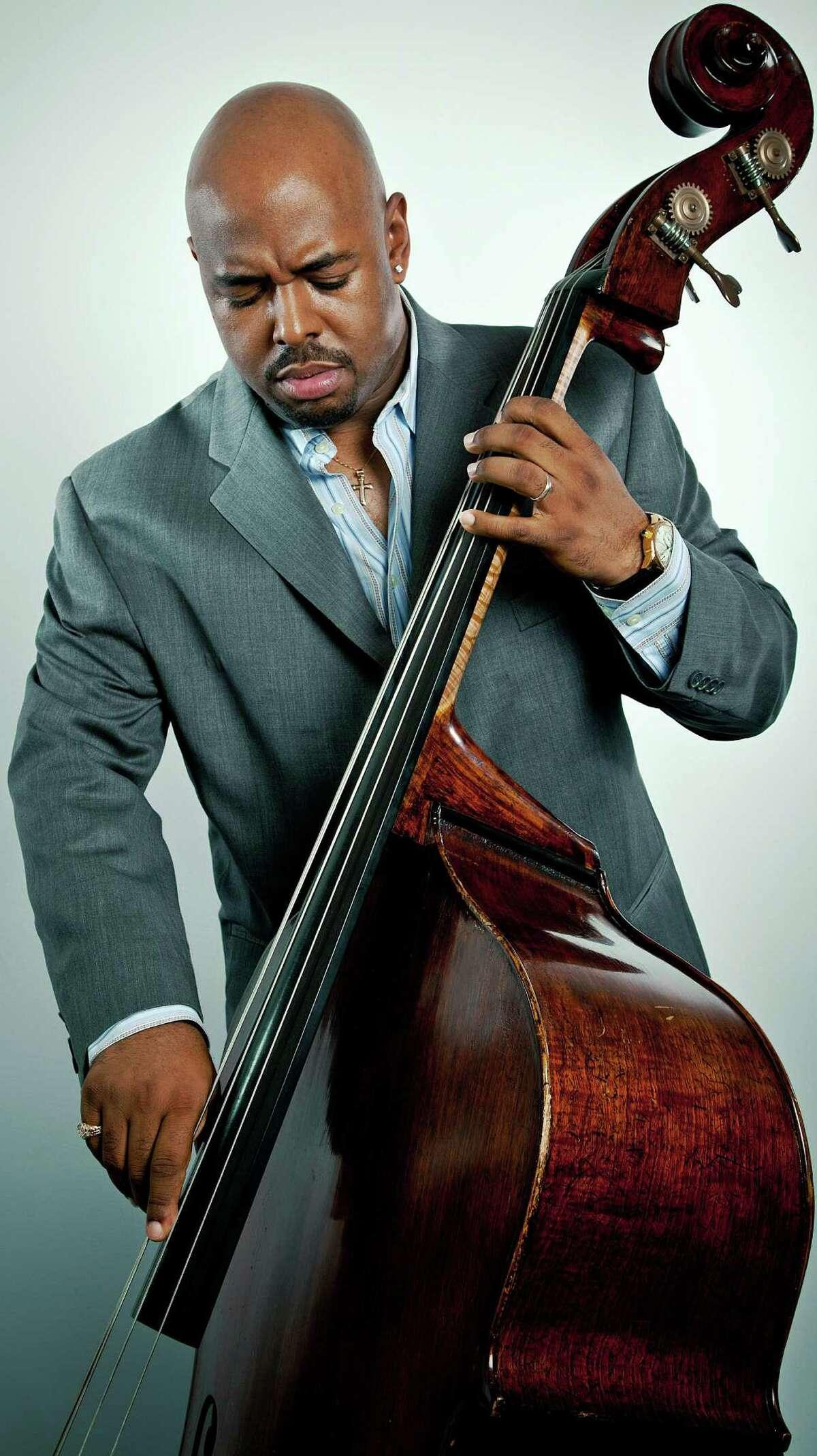 Jazz bass ace Christian McBride will play the Carver Center Saturday.