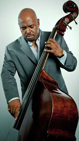 Jazz bass ace Christian McBride will play the Carver Center Saturday. Photo: Courtesy Anna Webber