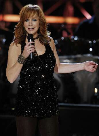 Rodeo favorite Reba McEntire performs Monday. Photo: Associated Press File Photo