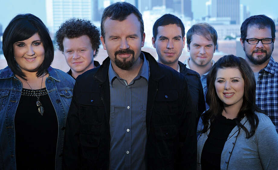 "Casting Crowns Megan Garrett (from left), Brian Scoggin, Mark Hall, Hector Cervantes, Chris Huffman, Melodee DeVevo, Juan DeVevo will share their musical ministry with rodeo fans. ""... people are going to hear the gospel very clearly."" Hall says. Photo: DAVID DOBSON / PROVIDENT LABEL GROUP"