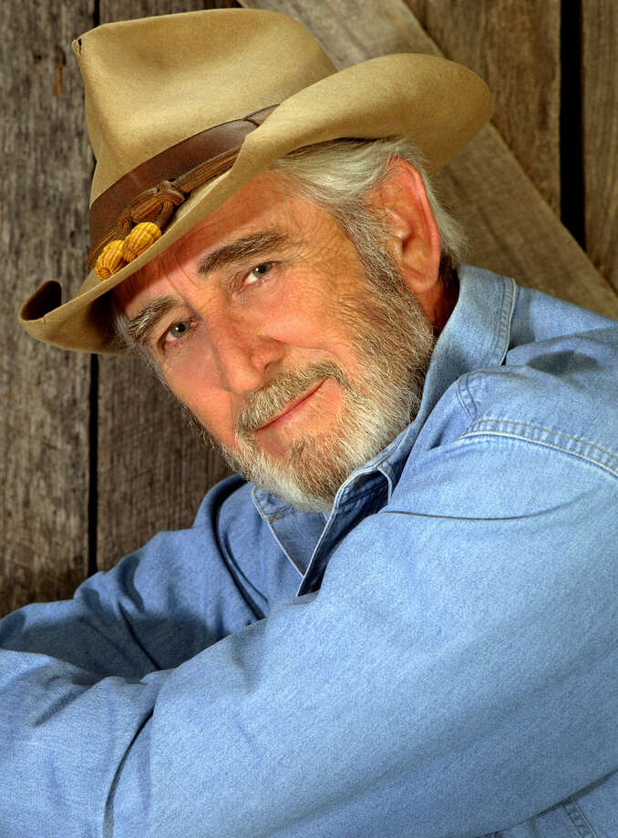 Don Williams will bring a bag full of No. 1 country hits to the Majestic Theater on March 1. Photo: Donwilliams.com