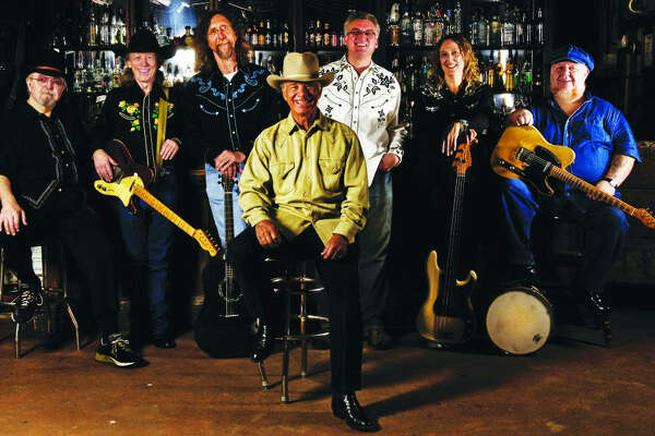 The Lucky Tomblin Band of Austin will perform tonight on the grounds of the San Antonio Stock Show & Rodeo.