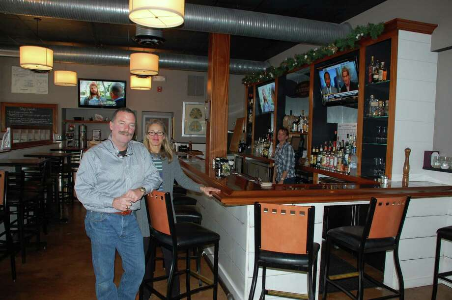 Jarret Liotta/For the Darien News Jimmy and Pam Love of Darien opened their new restaurant Jimmy's Southside Tavern in October and hope to give Noroton Heights a much-longed-for pub-style restaurant. Photo: Contributed