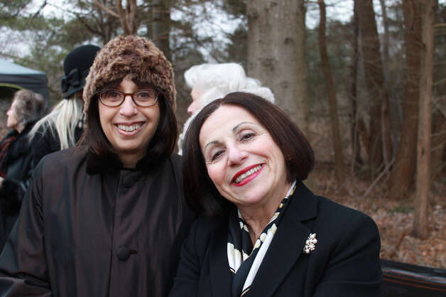 Westport Second Selectman Shelley Kassen with State Representative Toni Boucher