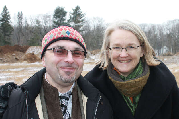 Denis Sagiev of Robert A.M. Stern Architects and Sarah Haga of Zubatkin Owner Representation