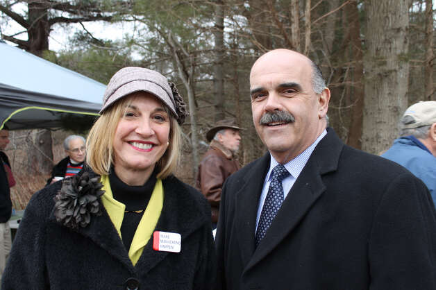 Y Board member Robin Tauck and her husband, Pete Romano or Land-Tech Consultants