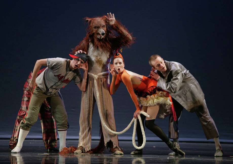 "The New York Theatre Ballet performs a contemporary rendition of ""Peter & the