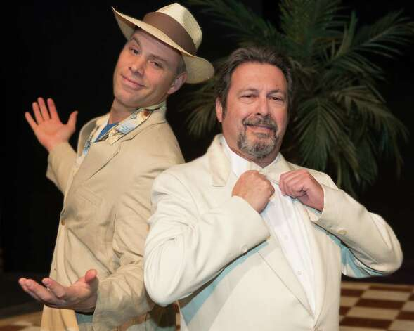 "Schenectady Light Opera Company's production of ""Dirty Rotten Scoundrels"" features Joel Bramer and Steve Leifer from February 8-10 and 14-17, 2013. (Courtesy SLOC)"