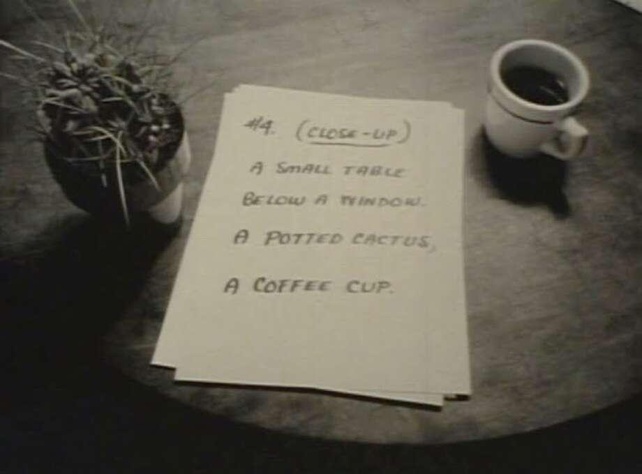 "A still from Hollis Frampton's 1972 film ""Poetic Justice"" (Courtesy Emily Bercir Zimmerman)"