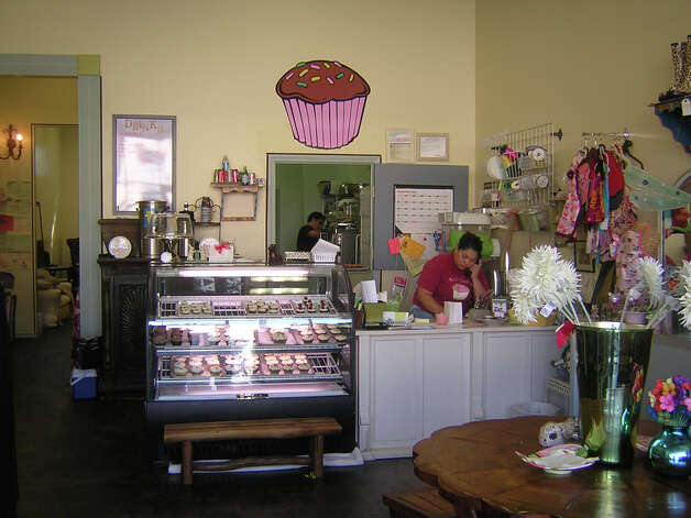 Kate's Frosting, 2518 N. Main Ave., 210-248-9809, and 7701 Broadway, 210-549-3926, is offering a valentine's cupcake and cookie menu. Cupcakes come in three sizes; flavors include love train, Mon Ami, pink mimosa, angel and devil, the bachelor, single lady and more. Kate's Frosting is taking special orders and will have a variety for walk-ins. Go to katesfrosting.net. Photo: ANDREA ALLINGER, 210SA