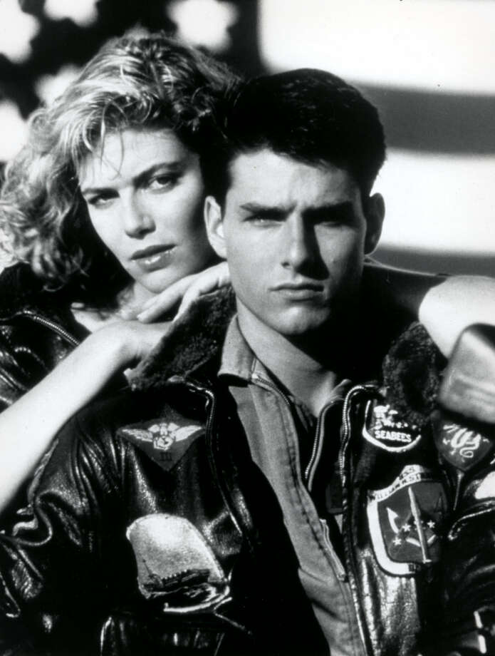 "Tom Cruise and Kelly McGillis star in the 1986 film ""Top Gun,"" a story about a hot-shot fighter pilot and his experiences at the Miramar Naval Air Station's prestigious training school. Photo: FILE PHOTO"