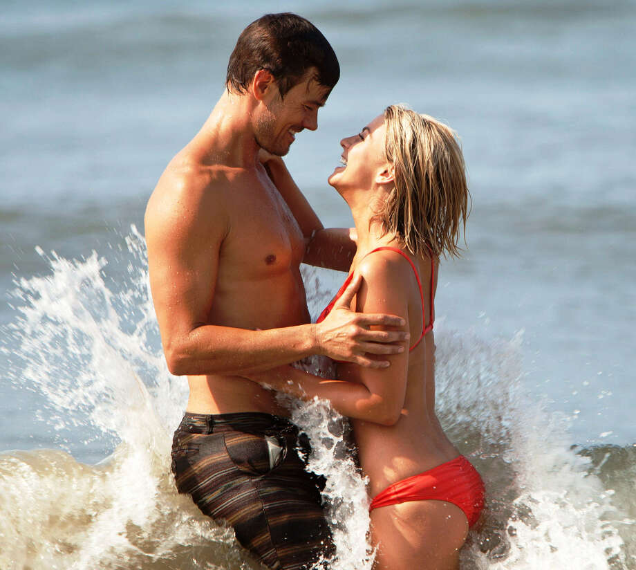 "Josh Duhamel plays a widowed father of two and Julianne Hough is the newcomer in town in ""Safe Haven."" Photo: Relativity Media"