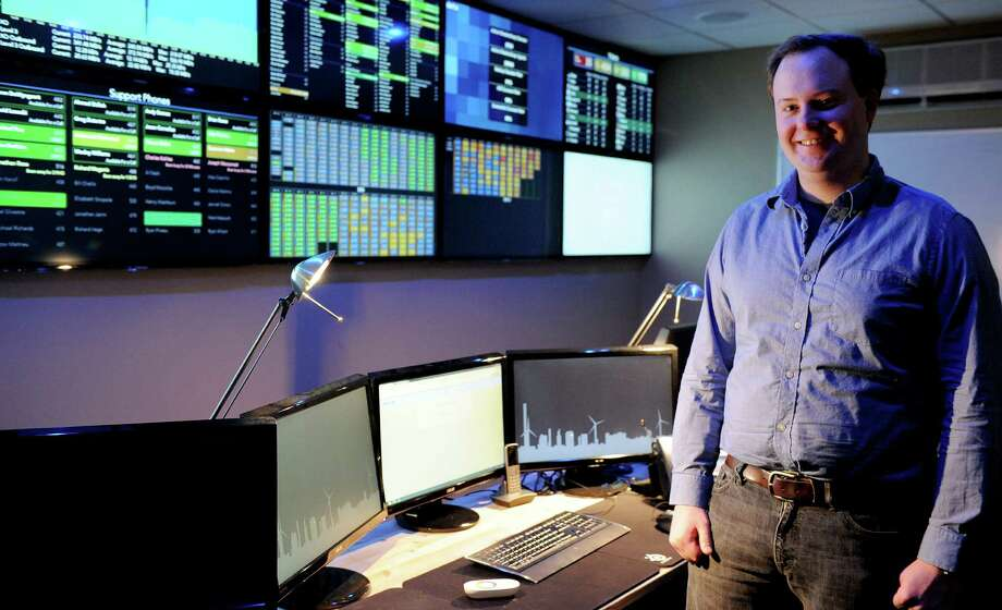 Austin McChord, CEO of Datto, poses for a photo in the company's Norwalk office on Tuesday, February 5, 2013. Photo: Lindsay Perry / Stamford Advocate