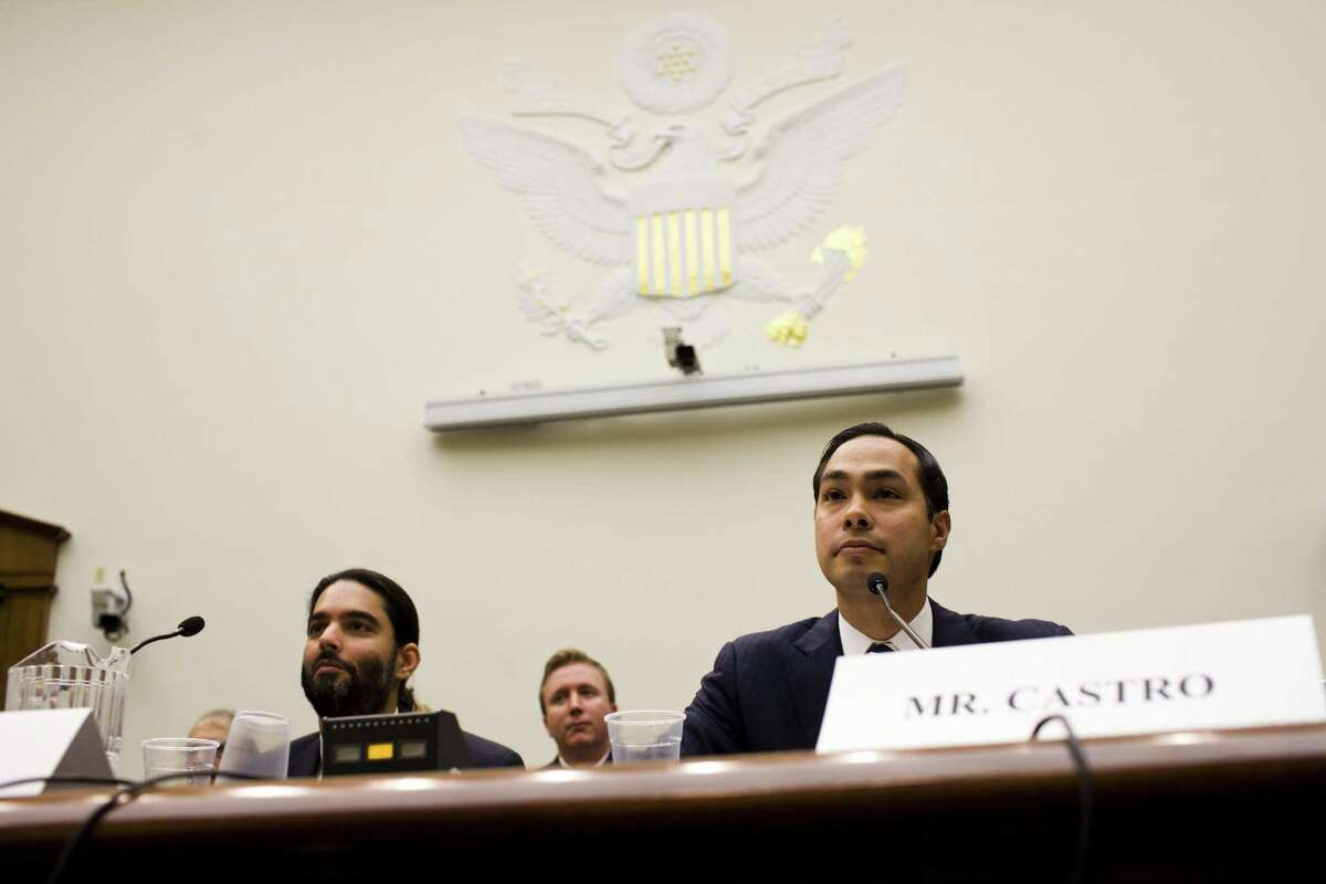 Mayor Julián Castro testifies before the House Judiciary Committee on Capitol Hill in Washington.