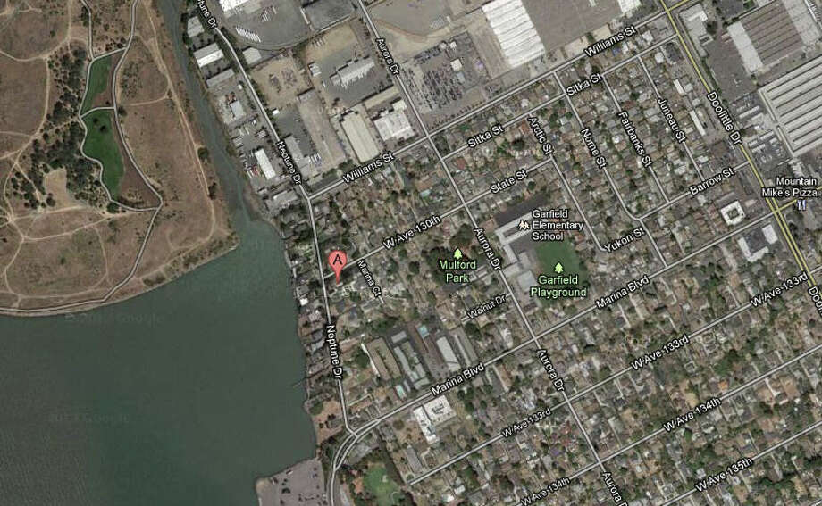 13000 block of Neptune Drive, San Leandro, CA Photo: Google Maps