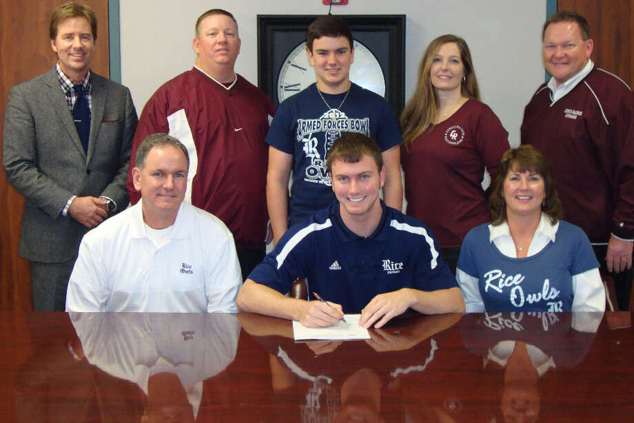 Cole Thomas signs with Rice