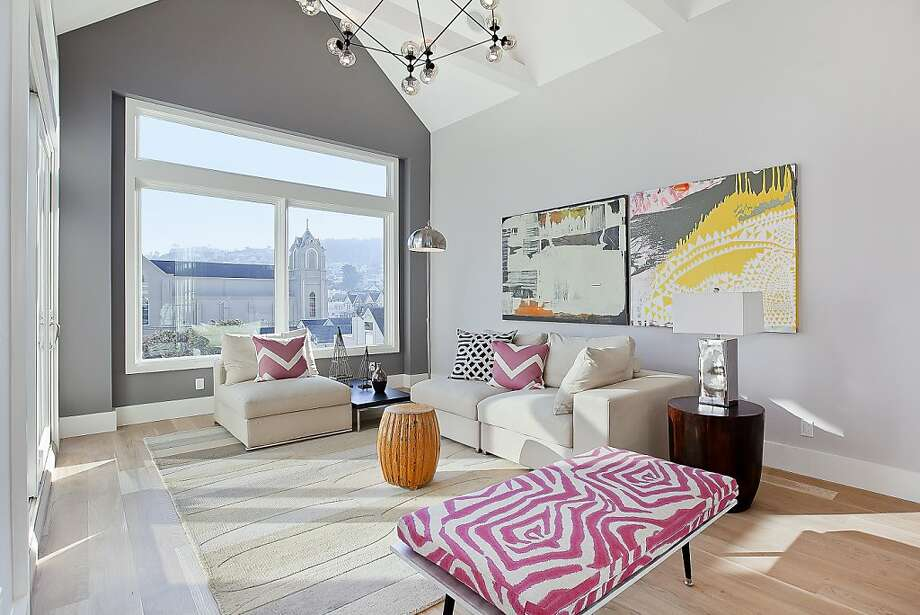 The high ceilings provide an open feeling inside the home. Photo: OpenHomesPhotography.com