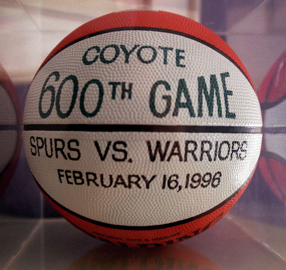 The Coyote performed in his 600th game on Feb. 16, 1996.