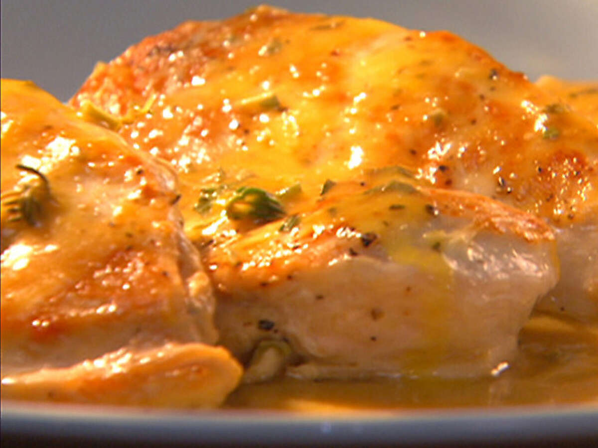 Chicken with Orange Sauce/foodnetwork.com