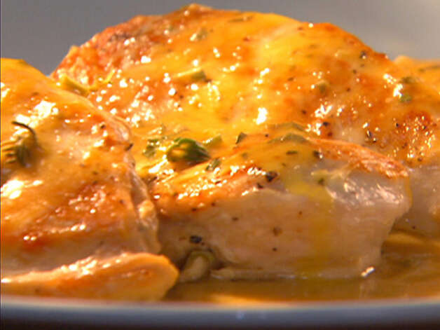 Chicken with Orange Sauce/foodnetwork.com