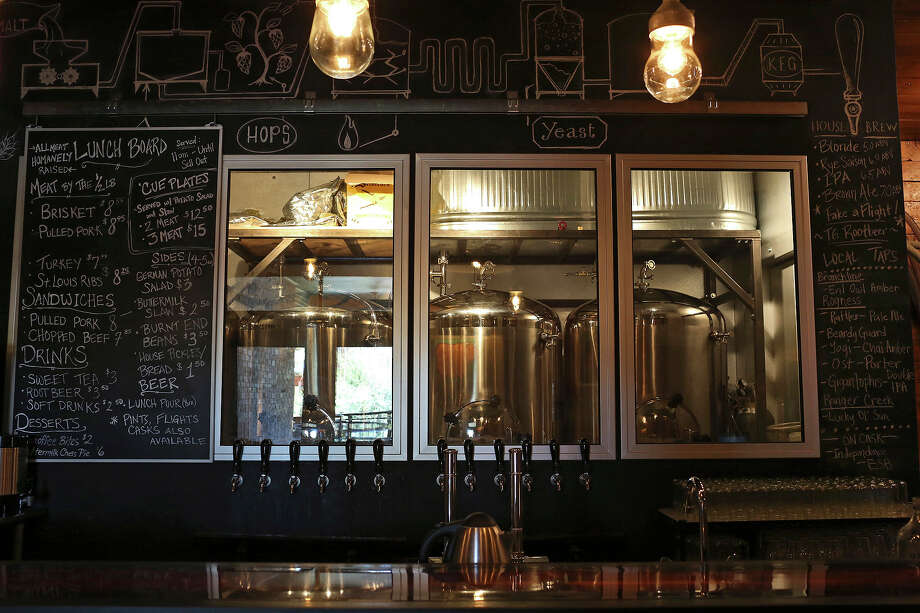 The Granary 'Cue & Brew, 602 Avenue A.  in the Pearl Brewery complex. Photo: Lisa Krantz, San Antonio Express-News / © 2012 San Antonio Express-News