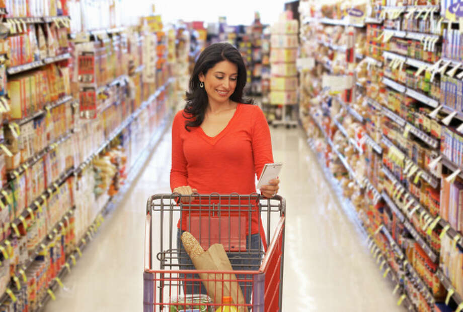 1- Go food shoppingVisit the local grocery story and make sure you have enough bread and milk in case you get snowed in. Photo: Monkey Business Images, Getty Images / (c) Monkey Business Images