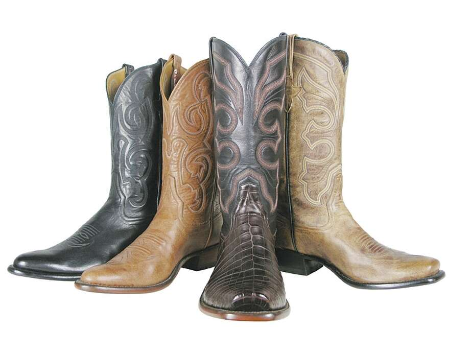 Style: Rios of Mercedes offer luxury materials and craftsmanship at affordable prices ranging from $495 to $1,495, available at Pinto Ranch.