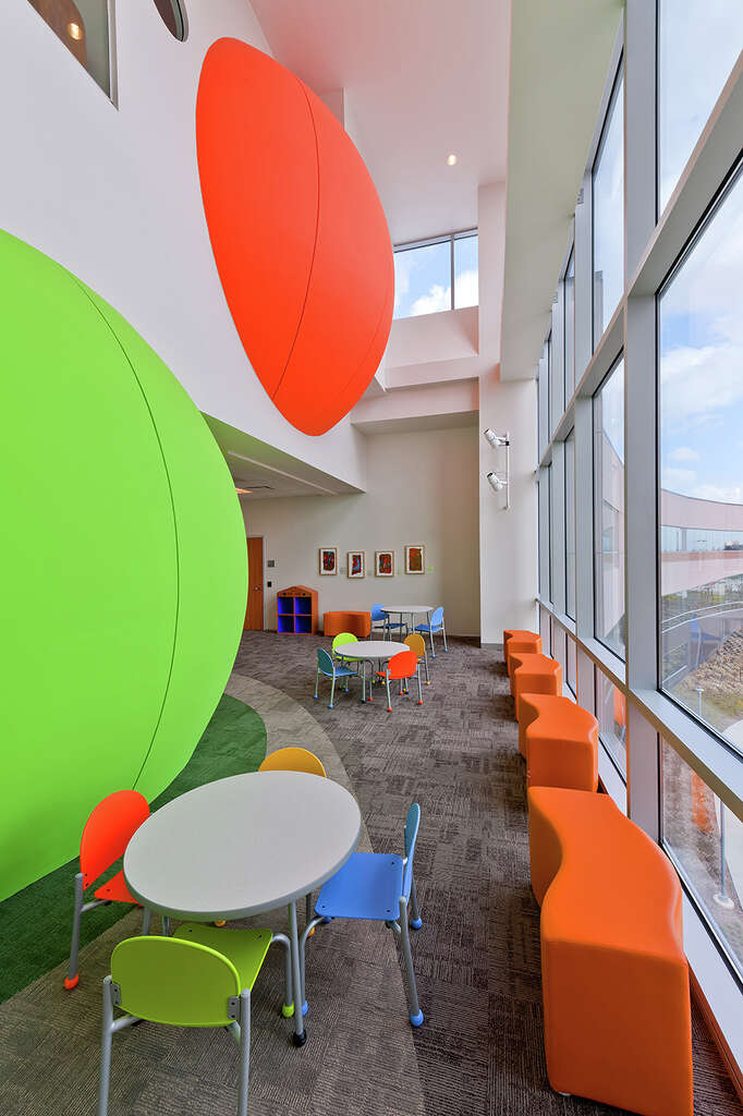 PageSutherlandPages Design For The Texas Childrens Hospital West Campus Is Among Notable Interiors Projects