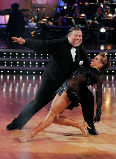 "Smirnoff and Apple co-founder Steve Wozniak were partners on Season 8 of ""Dancing With the Stars."" ""I realized that we wouldn't be the most athletic team, but we'd have a lot of fun,"" she says. Photo: KELSEY MCNEAL, HO / ABC"