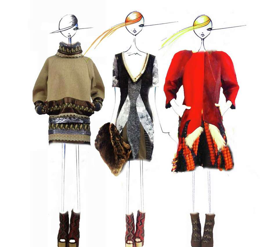 Knits, mixed textures and vibrant color will be among the offerings from the Custo Barcelona collection that will be shown at New York Fashion Week's Fall 2013-14 collections.