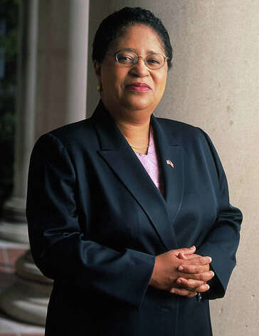 Shirley Ann Jackson, president of Rensselaer Polytechnic Institute, spoke to House Science committee on February 6, 2012, for increased federal support for basic science research.