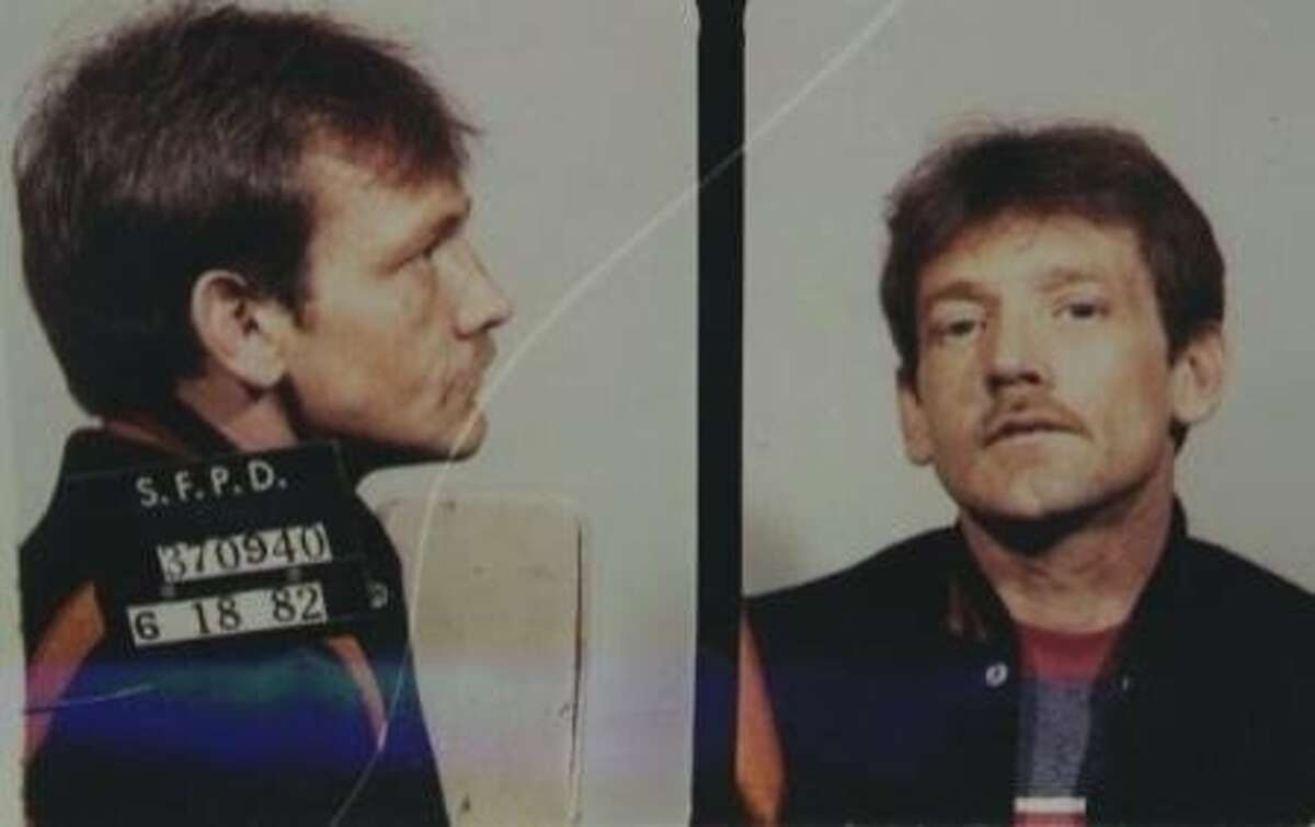 """1982 mug shot of Dan Therrien, identified by San Francisco police on Feb. 6, 2013, as a """"person of interest"""" in the disappearance of 10-year-old Kevin Collins. The boy vanished in February 1984."""