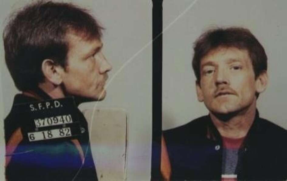 1982 mug shot of Dan Therrien, identified by San Francisco police on Feb. 6, 2013, as a
