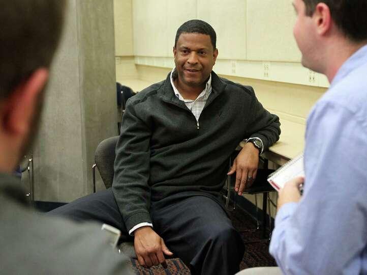 Chip West, Virginia's recruiting coordinator/cornerbacks, talks about the school's recruiting class