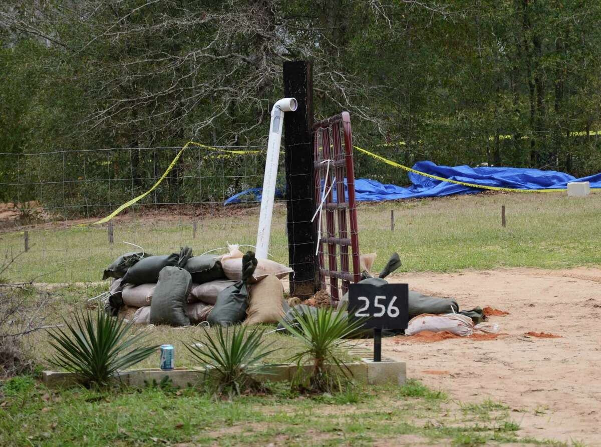 Jimmy Lee Dykes had planted explosives in the pipe used to communicate with authorities, shown, and within the bunker itself. The 5-year-old was rescued and Dykes killed when the bunker was raided on Monday.
