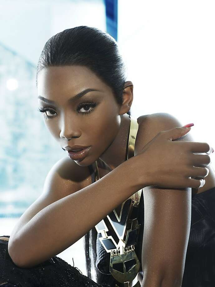 """Actress and singer Brandy has returned to the R&B charts with the release of """"Two Eleven."""" The title refers both to her birthday and the death date of her mentor, Whitney Houston. Photo: Gomillion & Leupold"""