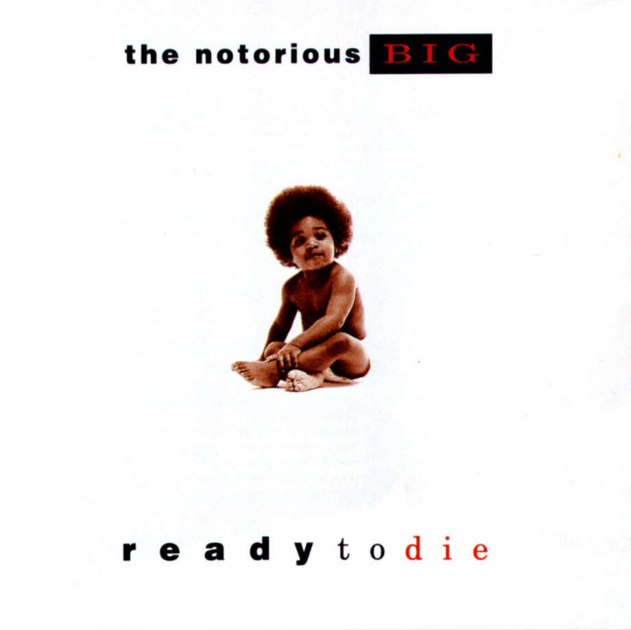 """The Notorious B.I.G. –- """"Ready to Die:""""This debut album was No. 133 on Rolling Stone's list of the 500 all-time greatest albums. Time magazine included it on their list of the 100 all-time greatest albums. (Album cover)"""
