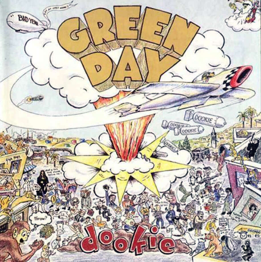 "Green Day – ""Dookie:""This 1994 album was so huge it charted in seven countries and has tracks the band is still known for, including ""Basket Case,"" When I Come Around,"" and ""Longview."" Rolling Stone put it at No. 193 on its 500 all-time greatest albums list. (Album cover)"