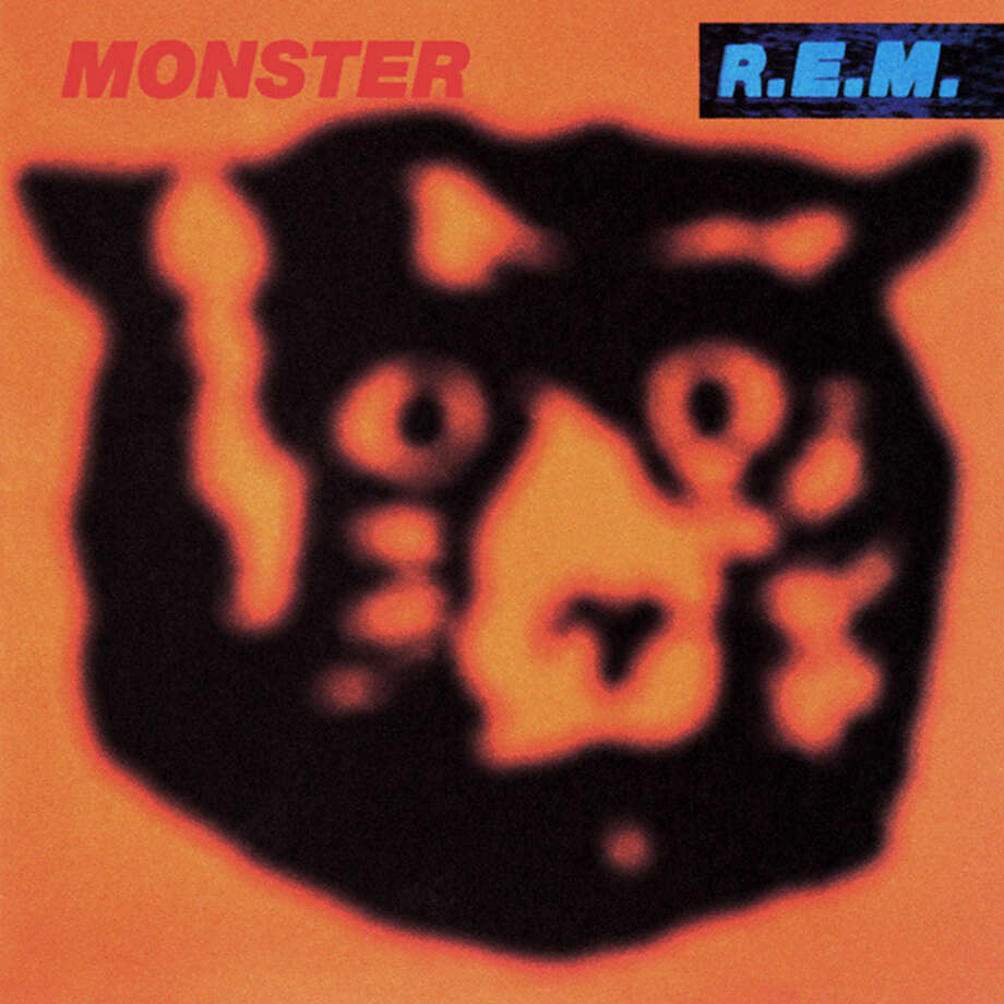 "REM – ""Monster:""This 1994 album was marked by ""What's the Frequency, Kenneth,"" which debuted at No . 1 on the Billboard Modern Rock Tracks chart. It also was the band's first release since 1992 and led to their first concert tour since 1989. (Album cover)"